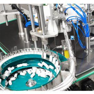 Automatische Nagellack-Füll- und Verschließmaschine