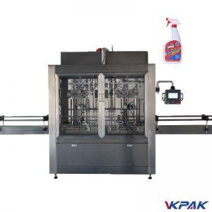 Flüssigreiniger-Abfüllmaschine